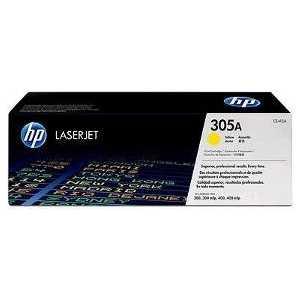 Картридж HP № 305A yellow (CE412A) картридж profiline pl ce413a 305a для hp laserjet m351 pro 400 color mfp m475dn m475dw 2600 стр пурпурный