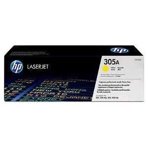 Картридж HP № 305A yellow (CE412A) картридж nv print hp ce413a magenta для laserjet color m351a m375nw m451dn m451dw m451nw m475dn m475dw 2600k