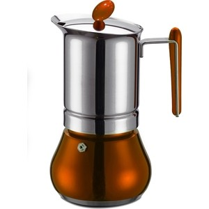 Гейзерная кофеварка на 4 чашки G.A.T. Annetta оранжевый (251004 orange) гейзерная кофеварка gat annetta 4 чашки green
