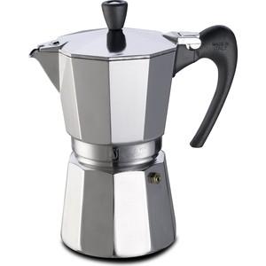 Гейзерная кофеварка 600мл на 12 чашек G.A.T. Aroma Vip хром (103412)