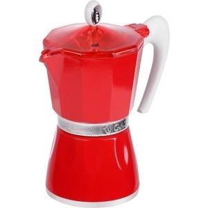 Гейзерная кофеварка 150 мл на 3 чашки G.A.T. Bella красный (103803 red)
