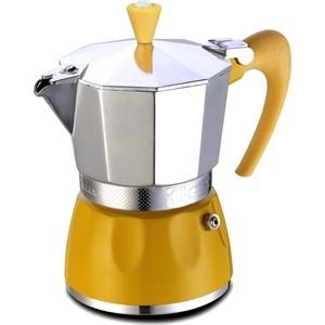Гейзерная кофеварка на 2 чашки G.A.T. Delizia желтый (100002 yellow)