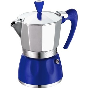 Гейзерная кофеварка на 3 чашки G.A.T. Delizia синий (100003 blue)