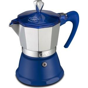 Гейзерная кофеварка на 3 чашки G.A.T. Fantasia синий (106003 blue)