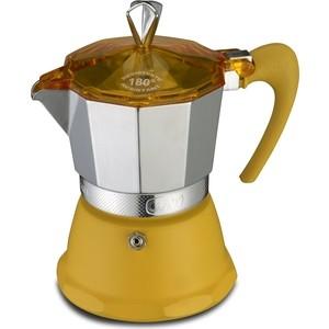 Гейзерная кофеварка на 6 чашек G.A.T. Fantasia желтый (106006 yellow)