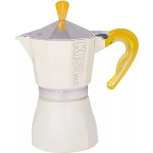 Гейзерная кофеварка на 3 чашки G.A.T. Kiss Me желтый (103303 yellow)