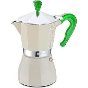 Гейзерная кофеварка на 3 чашки G.A.T. Kiss Me зеленый (103303 green)
