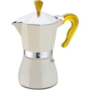 Гейзерная кофеварка на 6 чашек G.A.T. Kiss Me желтый (103306 yellow)