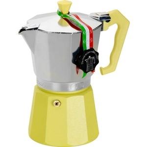 Гейзерная кофеварка на 6 чашек G.A.T. Lady Oro Color желтый (103006 yellow)