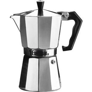 Гейзерная кофеварка 150 мл на 3 чашки G.A.T. Pepita хром (104103)