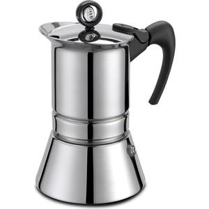 Гейзерная кофеварка на 4 чашки G.A.T. Vip Inox (221004)