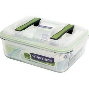 Контейнер прямоугольный с ручками 4.5 л Glasslock (MHRB-450) glasslock контейнер 1 л 22 7x16 4x6 2 см прямоугольный