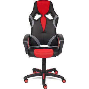 Кресло TetChair RUNNER кож/зам/ткань, черный/красный, 36-6/tw08/tw-12 кресло tetchair runner кож зам ткань черный жёлтый 36 6 tw 27 tw 12