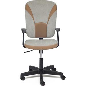 Кресло TetChair OSTIN ткань, серый/бронзовый, Мираж грей TW-21 ostin меланжевый снуд