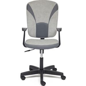 все цены на Кресло TetChair OSTIN ткань, серый/серый, Мираж грей TW-12 онлайн