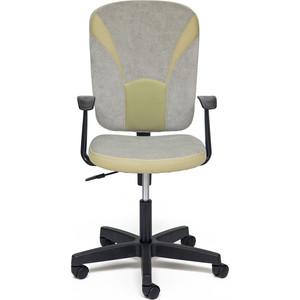 Кресло TetChair OSTIN ткань, серый/фисташковый, Мираж грей TW-25 ostin футболка для мальчиков