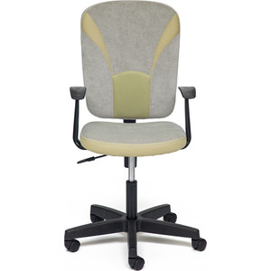 все цены на Кресло TetChair OSTIN ткань, серый/фисташковый, Мираж грей TW-25 онлайн