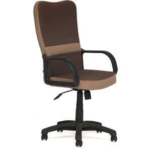 Кресло TetChair СН757 ткань, коричневый/бежевый, 26/13 стул компьютерный tetchair step бежевый коричневый
