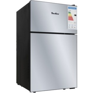 Холодильник Tesler RCT-100 Mirror мультиварка tesler 500 челябинск