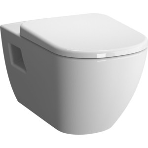 Унитаз подвесной Vitra D-Light безободковый, без сидения (5911B003-0075) унитаз подвесной vitra d light с бачком для чистящей жидкости 5910b003 1086