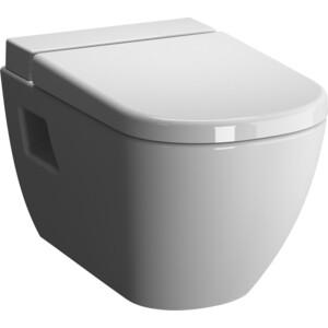 Унитаз подвесной Vitra D-Light Rimless, с емкостью для дезинфекции, без сидения (5911B003-1086) унитаз подвесной vitra d light с бачком для чистящей жидкости 5910b003 1086