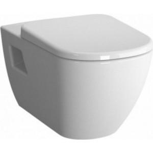 Унитаз подвесной Vitra D-Light без сидения (5910B003-0075) унитаз подвесной vitra d light с бачком для чистящей жидкости 5910b003 1086