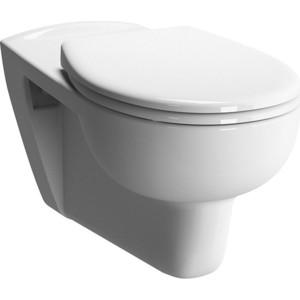 Унитаз подвесной Vitra Conforma для инвалидов подвесной, без сиденья (5811B003-0075) унитаз подвесной vitra d light с бачком для чистящей жидкости 5910b003 1086