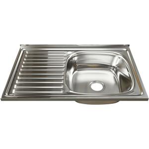 Кухонная мойка Mixline 50х80 0,8 прав. выпуск 3 1/2 (4630030631842)