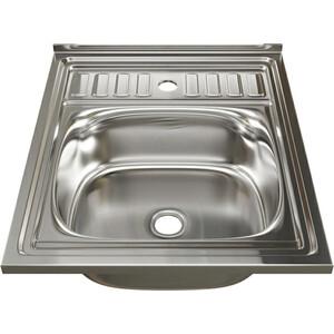Кухонная мойка Mixline 60х50 0,4 выпуск 1 1/2 (4630030631217)