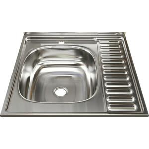 Кухонная мойка Mixline 60х60 0,4 левая, выпуск 1 1/2 (4630030631248)