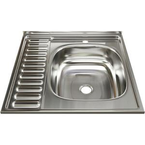 Кухонная мойка Mixline 60х60 0,4 правая, выпуск 1 1/2 (4630030631279) кухонная мойка teka princess 1 1 2b 1 2d