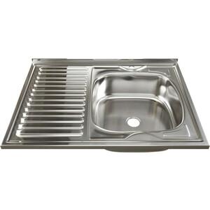 Кухонная мойка Mixline 60х80 0,4 правая, выпуск 1 1/2 (4630030631330)