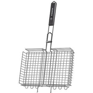 Решетка-гриль Forester объемная с антипригарным покрытием 26 х 38 см (BQ-NS03) решетка гриль forester большая с антипригарным покрытием 26х45 см bq ns02