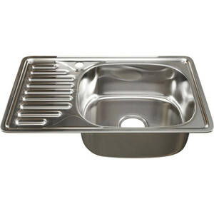 Кухонная мойка Mixline 42х66 врез 0,6 правая, выпуск 3 1/2 (4630030632474)