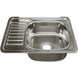 Кухонная мойка Mixline 48х58 врез 0,6 правая, выпуск 3 1/2 (4630030632290)