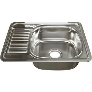 Кухонная мойка Mixline 50х65 врез 0,6 правая, выпуск 3 1/2 (4630030632320)