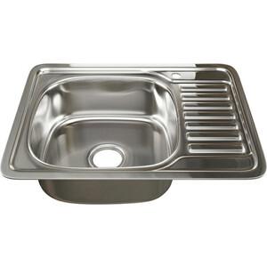 Кухонная мойка Mixline 50х65 врез 0,8 левая, выпуск 3 1/2 (4620031447245)