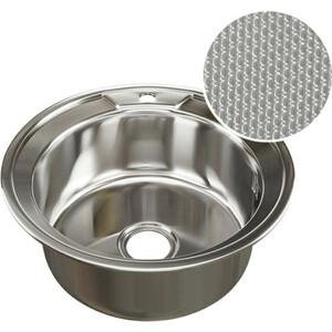 Кухонная мойка Mixline D 51 0,8 выпуск 3 1/2 глуб чаши ДЕКОР (4620031442400)