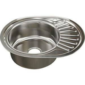 Кухонная мойка Mixline 45х57 0,8 левая, выпуск 3 1/2 (4620031447221)