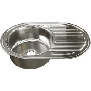 Кухонная мойка Mixline 50х77 0,6 левая, выпуск 3 1/2 (4630030632115)