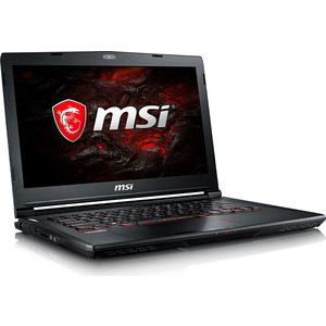 Игровой ноутбук MSI GS43VR 7RE Phantom Pro (9S7-14A332-094) ноутбук msi gs43vr 7re 094ru phantom pro 14 1920x1080 intel core i5 7300hq 1 tb 128 gb 16gb nvidia geforce gtx 1060 6144 мб черный windows 10 home 9s7 14a332 094