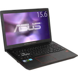 Игровой ноутбук Asus ROG GL553VE-FY200T (90NB0DX3-M02800) ноутбук asus rog gl553ve fy200t 15 6 intel core i7 7700hq 2 8ггц 12гб 1000гб 256гб ssd nvidia geforce gtx 1050 ti 4096 мб dvd rw windows 10 90nb0dx3 m02800 черный