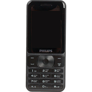 Мобильный телефон Philips E181 Xenium Black philips xenium v526 navy