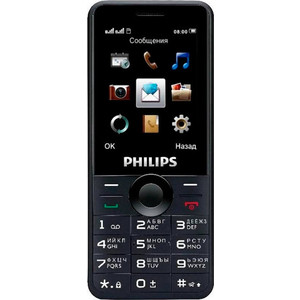 Мобильный телефон Philips E168 Xenium Black смартфон philips xenium v526 lte 8gb