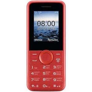 Мобильный телефон Philips E106 красный мобильный телефон jinga simple f200n черно красный