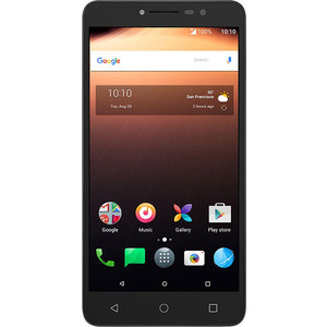 Смартфон Alcatel A3 XL 9008D 8Gb Gray Silver смартфон alcatel a3 xl 9008d sideral gray silver mediatek mt8735b 1 гб 8 гб 6 1280x720 dualsim 3g 4g 8mpix 5mpix bt android 7 0
