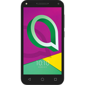 Смартфон Alcatel U5 3G 4047D Black Gray смартфон alcatel u5 3g 4047d black gray