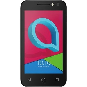 Смартфон Alcatel U3 3G 4049D Volcano Black смартфон alcatel onetouch 6055k idol 4 gold black