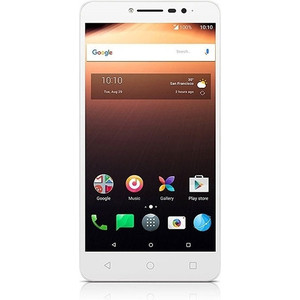 Смартфон Alcatel A3 XL 9008D 8Gb White Blue смартфон alcatel 5045d pixi 4 white orange page 6