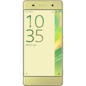 Смартфон Sony Xperia XA Dual F3112 Lime Gold смартфон sony xperia xa ultra dual